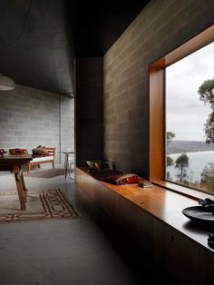 House at Big Hill by Kerstin Thompson Architects   Yellowtrace
