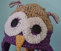 Newborn/Infant/Child/Teen/Adult Owl Hat Give a by CherMeCreations, $15.00
