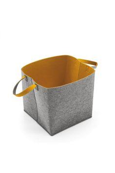 Elliot Storage Box by Calligaris Modern Baskets, Orange Interior, Modern Dining Table, Everyday Objects, Storage Baskets, Basket Weaving, Storage Solutions, Decorative Accessories, Modern Furniture