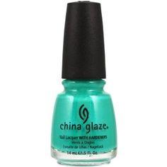 Amazon.com: China Glaze Nail Polish, Turned Up Turquoise, 0.5 Ounce: Beauty