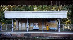 railway station daggar board roof style victorian - Google Search Roof Styles, Canopy, Victorian, Outdoor Decor, Garage, Google Search, Board, Home Decor, Carport Garage