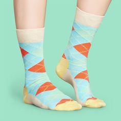 I love some classic socks!  #classicvibes #socks #happysocks Aqua Blue, Purple, Argyle Socks, Colorful Socks, Happy Socks, Drarry, Bubblegum Pink, Spring Summer 2018, Are You The One