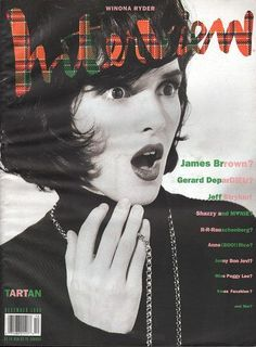 Interview (By Andy Warhol) December 1990