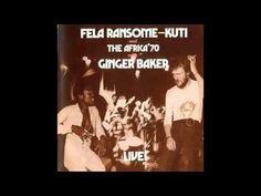 """""""Let's Start"""" by Fela Kuti feat. Ginger Baker, Live! (1971) - Full Album - YouTube"""