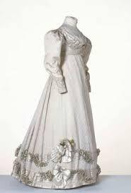 Resultado de imagen para vintage wedding dresses 1800's
