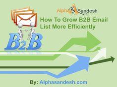 B2b Email List