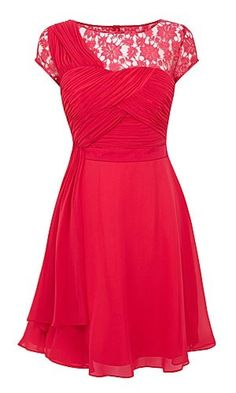 Red bridesmaid dress - My wedding ideas