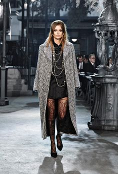 See Every Single Look From Chanel's Métiers d'Art Rome Collection via @WhoWhatWear