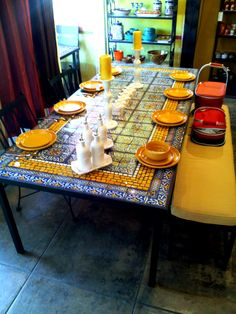 Furthur Wholesale Mosaic Dining Tables  $1,100