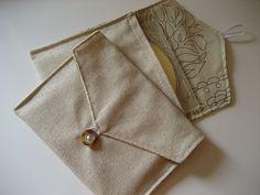 Fabric CD Envelopes