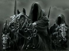 Black Riders, Ring Wraiths, Nazgul - call 'em what you please.