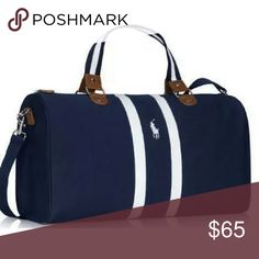 870d077f92 New Ralph Lauren Duffel Bag Still in the plastic. I used a stock picture as