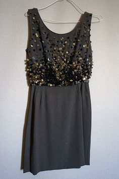 vintage Little Black Dress from The Mabs Collection for sale Dresses For Sale, High Fashion, Vintage Outfits, Sequin Skirt, Skirts, How To Wear, Clothes, Collection, Black
