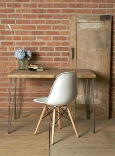 Solid Wood Desk Chai