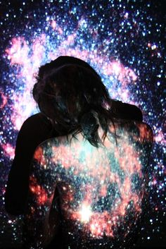 In the arms of the one you love, the galaxy and its size does not matter - for the only control we have is to give our world, our galaxy, our life; to those that deserve.  Allow, for moments, for that special someone to live forever in your galaxy.