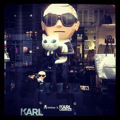 Karl Lagerfeld, by alezmz - http://sfluxe.com/2013/08/02/karl-lagerfeld-by-alezmz/