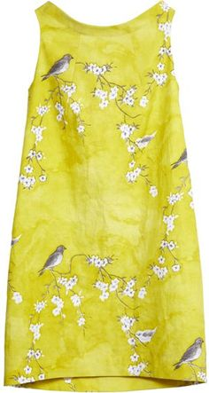 Pretty Yellow Frock