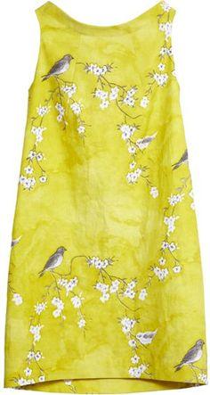 bird and blossom dress