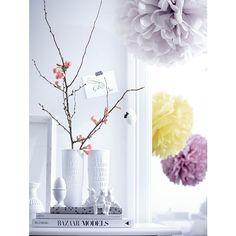Vasen-Set, 2-tlg., Porzellan von IMPRESSIONEN living - Weiß
