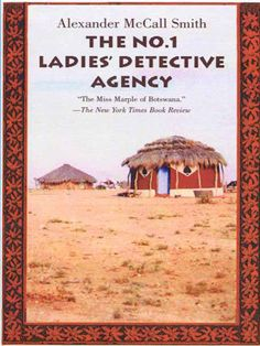 If you would like to read a story written from a different cultures perspective this is the one. A lady detective? Thats what they think in Africa where this takes place, but she is a determined lady. As you read, you learn she is good at being a detective.