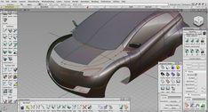 Toruk Electric Car Concept - A-Class Surfaces - Alias Screenshot