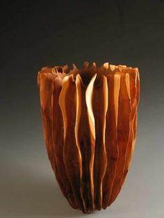 *Wood Sculpture by Marc Ricourt