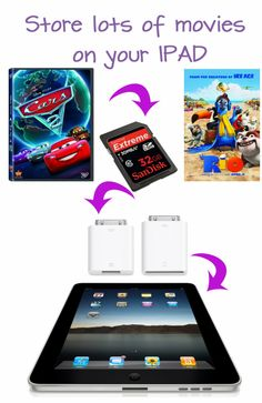 How to store more movies on your IPAD!