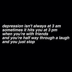 depression, sad, and quote image My Demons, Depression Quotes, I Can Relate, Meaningful Quotes, Inspirational Quotes, In My Feelings, Deep Thoughts, True Quotes, Quotes About Life