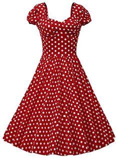 MUXXN Women Vintage Polka Dot Cocktail Swing Dress (2XL, Red) MUXXN http://www.amazon.com/dp/B00Y0N2Y84/ref=cm_sw_r_pi_dp_mrYKvb16AAJJM