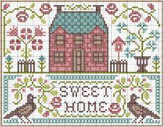 gazette94: free pattern home sweet home