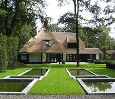 Bureau Poortvliet: minimalistische tuin