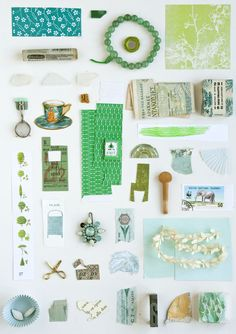 Collection, green