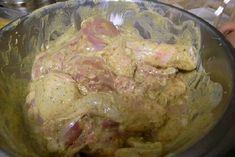 Pollo marinato allo yogurt, cottura in forno