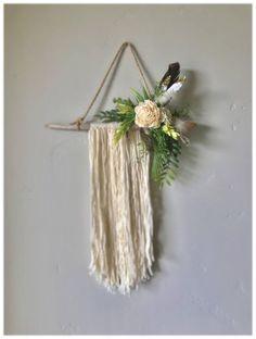 27 Dream Catcher DriftwoodBoho baby wedding decor