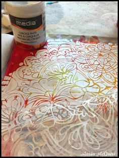 Believe Dream Create with Maria: The What If Art Journal Page