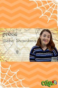 Taispeánann Caitríona dúinn conas próca Oíche Shamhna a dhéanamh. Caitríona shows us how to do a DIY Halloween jar. Diy Halloween Jars, Halloween Themes, Samhain, Fun, Hilarious