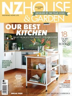 New Zealand House & Garden Magazine offers the perfect opportunity to step into the homes and lives of the people who form the heartbeat of the country.Read By Students, Architects, Interior Designers, Home Passionate Readers, Designers.