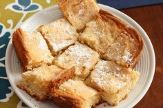 YES! ooey gooey butter cake with no CREAM CHEESE!