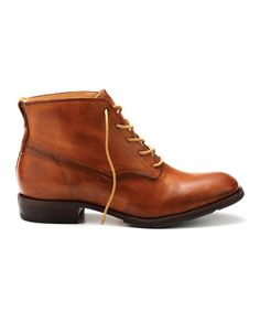 Timberland Dark Tan Lucille Chukka Boot #zulily #zulilyfinds   Featuring premium full-grain leather ethically sourced from a Silver-rated tannery, these vintage-inspired lace-up boots go with nearly everything in the established closet. This pair boasts smooth leather lining and leather-covered footbeds, too. A padded tongue and foam cushioning provide the ultimate in comfort.