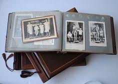 Antigo Album de foto + Scrapbook