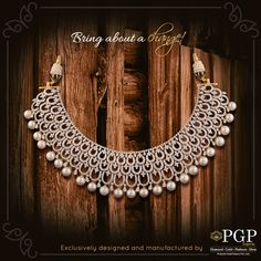 Because you are self-made and worthy of creating a new world!  For any queries regarding the price of the jewellery or otherwise, email us at query@pgpgroups.com
