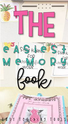If you hate putting memory books together, then I've got the solution for you!