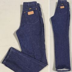 1148a85f High waist jeans, shorts, vintage denim · Wrangler Jeans Made In USA High  Waiar 13MTIM 12 X 32 Measure 28 1/2