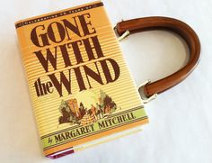 Gone With The Wind Book Purse  Your Choice of by NovelCreations