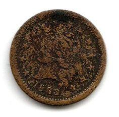 1863 Civil War Token - Wilson's Medal | Coins & Paper Money, Exonumia, Tokens: Civil War | eBay!