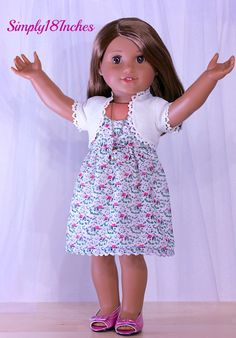 18 inch American Girl Doll Clothes by Simply18Inches