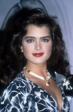 Brooke Shields Brooke Shields Joven, Brooke Shields Young, Hollywood Actor, Hollywood Stars, Brooke Shields Michael Jackson, Vaquera Sexy, George Burns, Vogue, Pretty Baby
