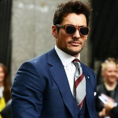 David Gandy wears Finlay & Co. wooden sunglasses | men's style | who | fashion | http://www.finlayandco.com/