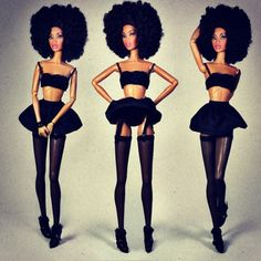 Afro Barbie- love it!