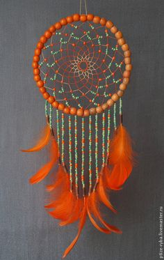 Rainbow Mobile Dream Catcher Recycled and New Materials Handmade - Haber Alka Los Dreamcatchers, Dream Catcher Decor, Beautiful Dream Catchers, Diy And Crafts, Arts And Crafts, Crochet Dreamcatcher, Ideias Diy, Wind Chimes, Projects To Try